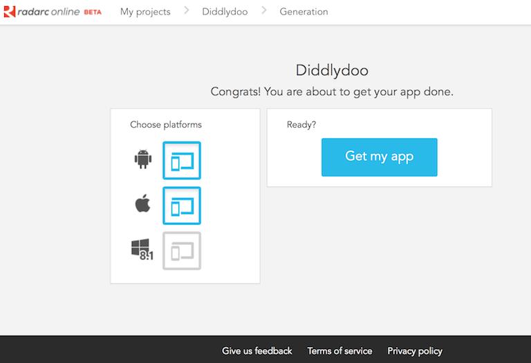Trigger app build process